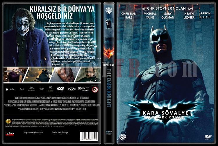 Batman: The Dark Knight Collection (Batman: Kara Şövalye Koleksiyonu) - Custom Dvd Cover Set - Türkçe [2005-2008-2012]-2jpg