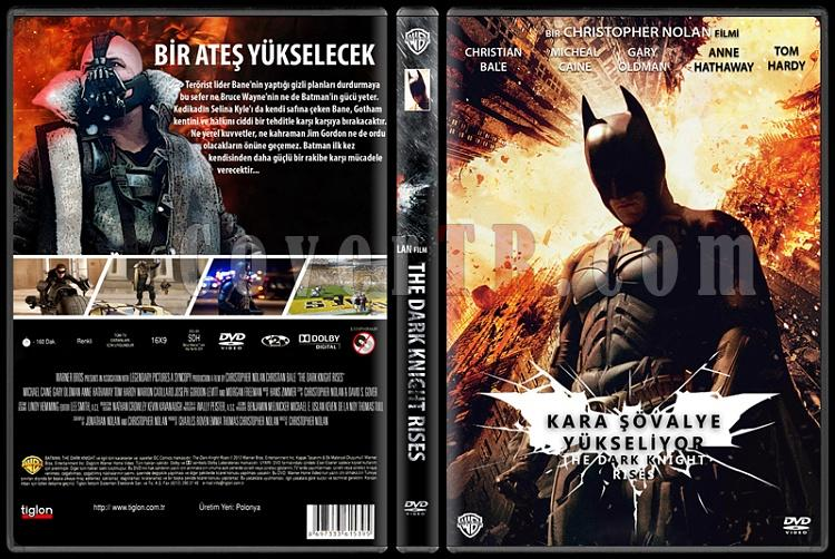 Batman: The Dark Knight Collection (Batman: Kara Şövalye Koleksiyonu) - Custom Dvd Cover Set - Türkçe [2005-2008-2012]-3jpg