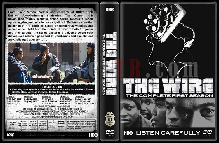The Wire (Seasons 1-5) - Custom Dvd Cover Set - English [2002-2008]-1jpg