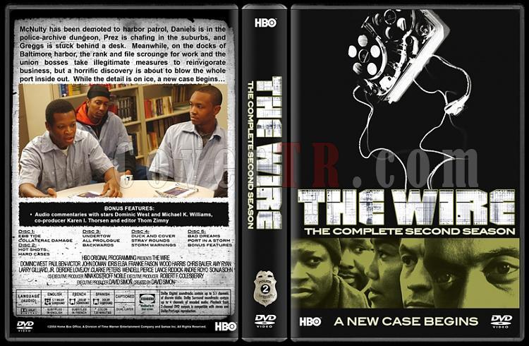 The Wire (Seasons 1-5) - Custom Dvd Cover Set - English [2002-2008]-2jpg