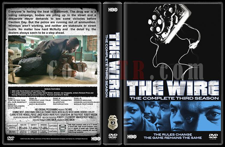 The Wire (Seasons 1-5) - Custom Dvd Cover Set - English [2002-2008]-3jpg