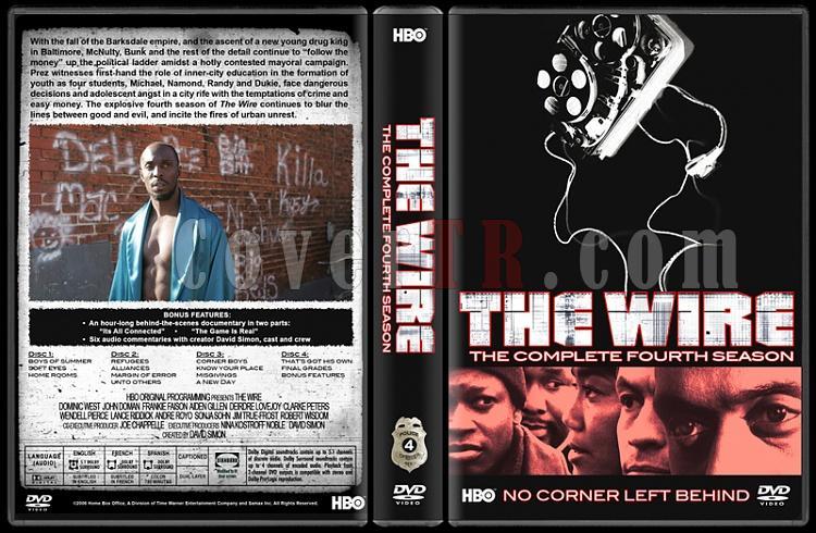 The Wire (Seasons 1-5) - Custom Dvd Cover Set - English [2002-2008]-4jpg