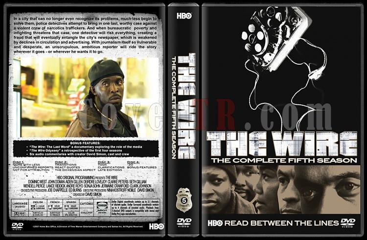 The Wire (Seasons 1-5) - Custom Dvd Cover Set - English [2002-2008]-5jpg