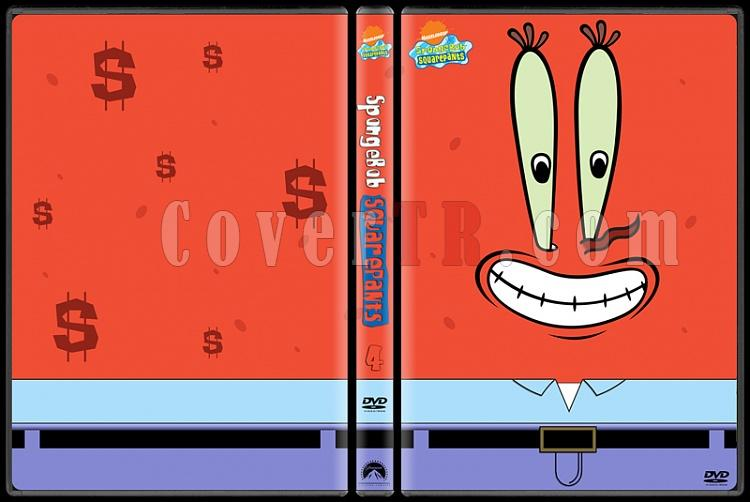 SpongeBob SquarePants (Sünger Bob Kare Şort) - Custom Dvd Cover Set - English [1999]-4jpg