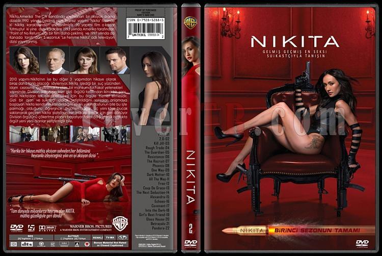 Nikita (Season 1) - Custom Dvd Cover Set - Türkçe [2010-?]-2jpg