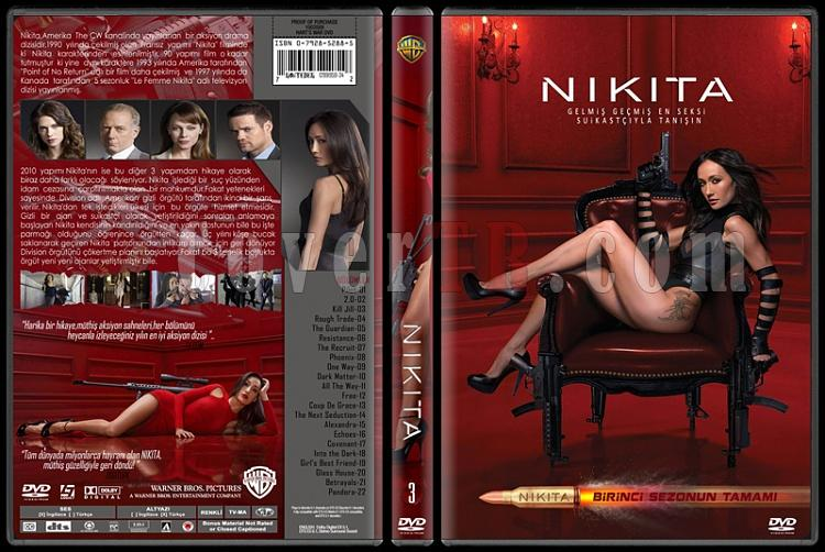 Nikita (Season 1) - Custom Dvd Cover Set - Türkçe [2010-?]-3jpg