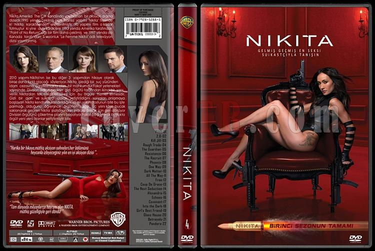 Nikita (Season 1) - Custom Dvd Cover Set - Türkçe [2010-?]-4jpg