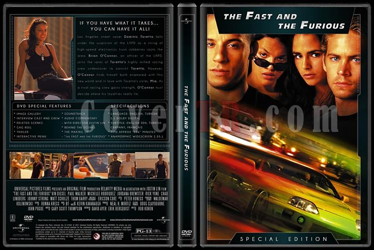 The Fast and the Furious Collection (Hızlı ve Öfkeli Koleksiyonu) - Custom Dvd Cover Set - English [2001-2013]-1jpg