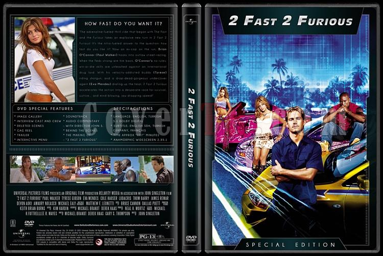 The Fast and the Furious Collection (Hızlı ve Öfkeli Koleksiyonu) - Custom Dvd Cover Set - English [2001-2013]-2jpg