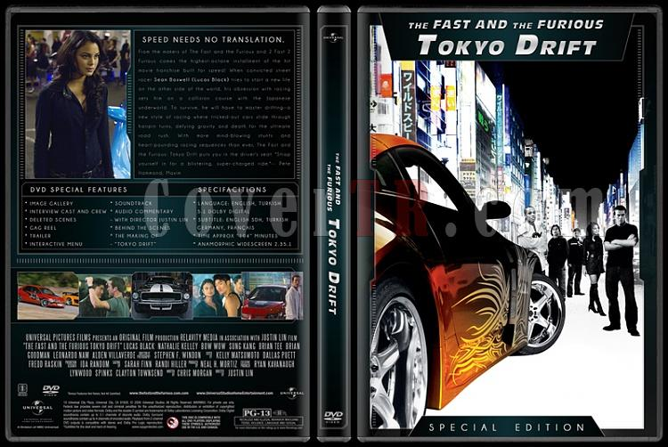 The Fast and the Furious Collection (Hızlı ve Öfkeli Koleksiyonu) - Custom Dvd Cover Set - English [2001-2013]-3jpg