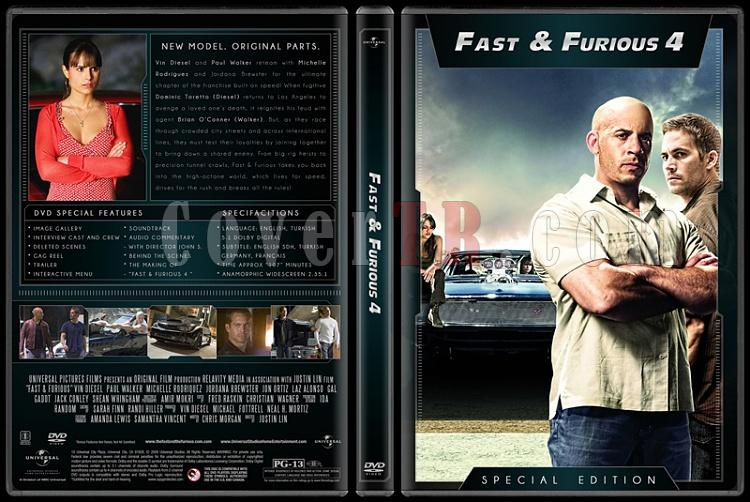 The Fast and the Furious Collection (Hızlı ve Öfkeli Koleksiyonu) - Custom Dvd Cover Set - English [2001-2013]-4jpg