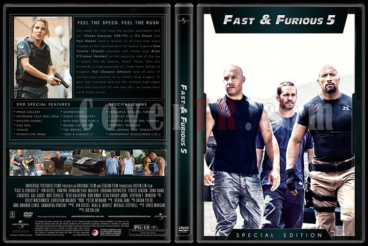 The Fast and the Furious Collection (Hızlı ve Öfkeli Koleksiyonu) - Custom Dvd Cover Set - English [2001-2013]-5jpg