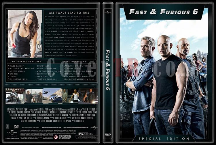 The Fast and the Furious Collection (Hızlı ve Öfkeli Koleksiyonu) - Custom Dvd Cover Set - English [2001-2013]-6jpg