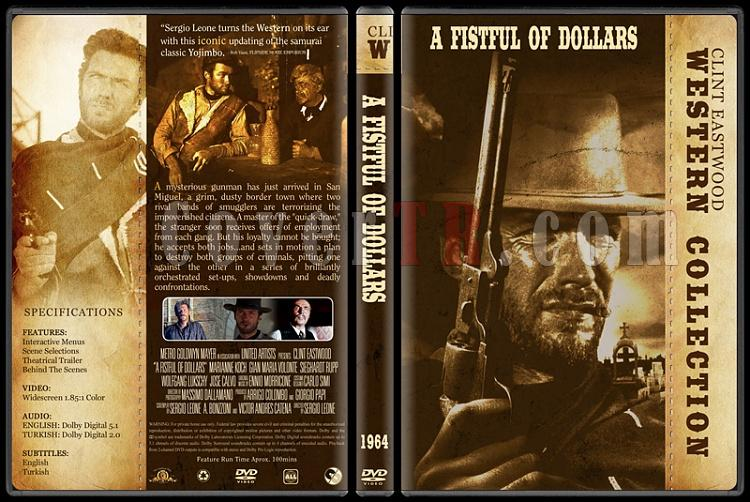 Clint Eastwood Western Collection - Custom Dvd Cover Set - English-01jpg