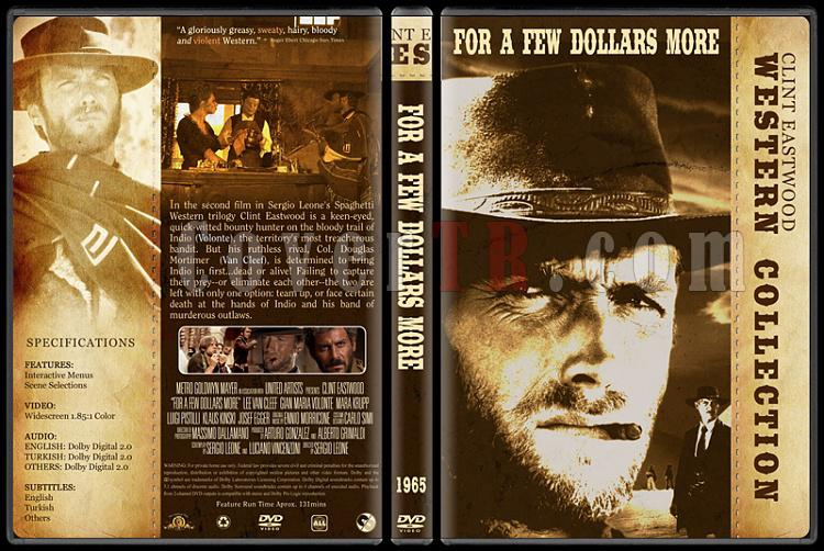 Clint Eastwood Western Collection - Custom Dvd Cover Set - English-02jpg