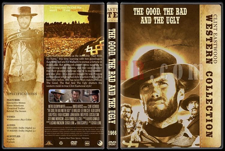 Clint Eastwood Western Collection - Custom Dvd Cover Set - English-03jpg