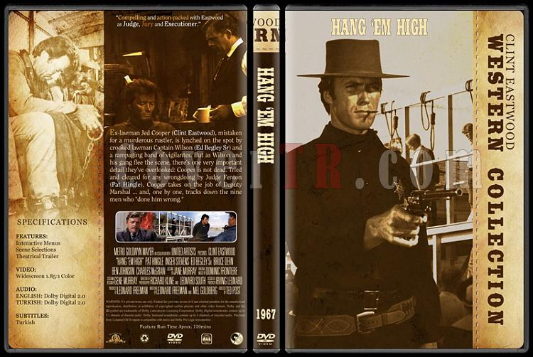 Clint Eastwood Western Collection - Custom Dvd Cover Set - English-05jpg