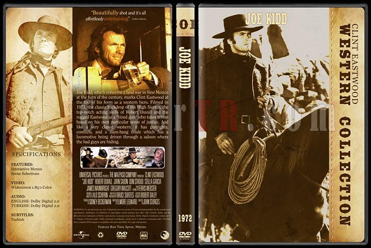 Clint Eastwood Western Collection - Custom Dvd Cover Set - English-07jpg
