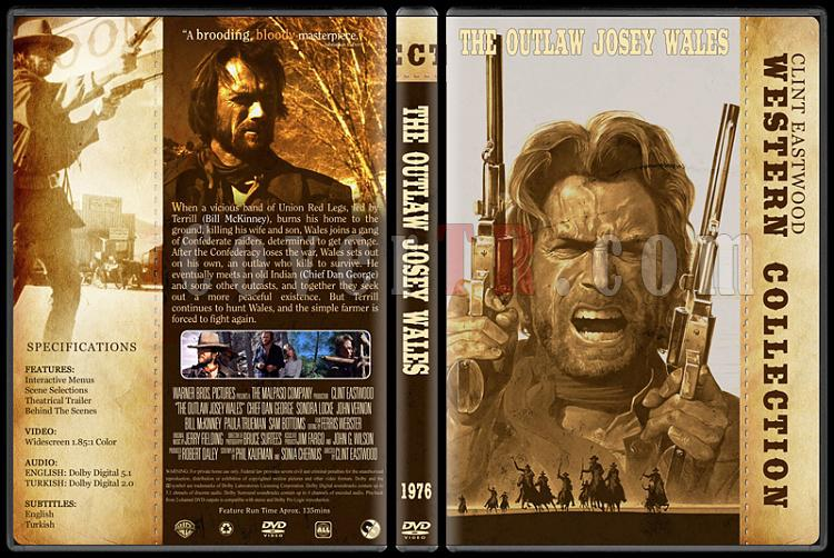 Clint Eastwood Western Collection - Custom Dvd Cover Set - English-08jpg
