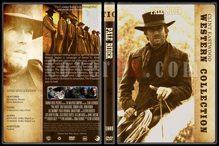 Clint Eastwood Western Collection - Custom Dvd Cover Set - English-09jpg
