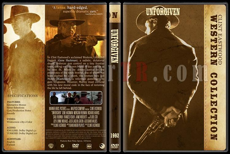 Clint Eastwood Western Collection - Custom Dvd Cover Set - English-10jpg