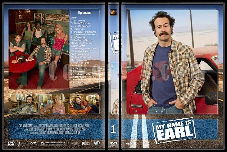 My Name Is Earl (Seasons 1-4) - Custom Dvd Cover Set - English [2005-2009]-1jpg