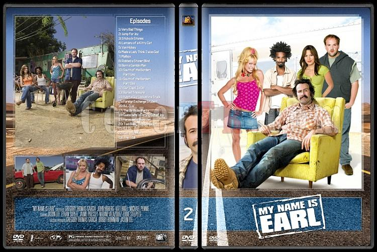 My Name Is Earl (Seasons 1-4) - Custom Dvd Cover Set - English [2005-2009]-2jpg