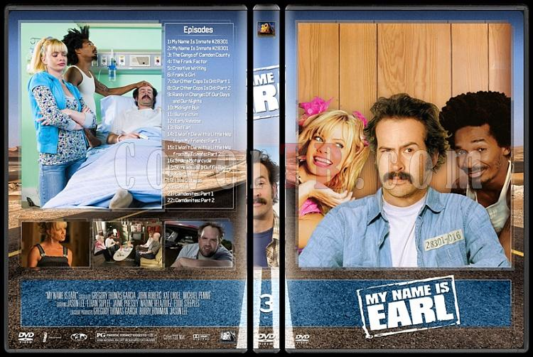 My Name Is Earl (Seasons 1-4) - Custom Dvd Cover Set - English [2005-2009]-3jpg