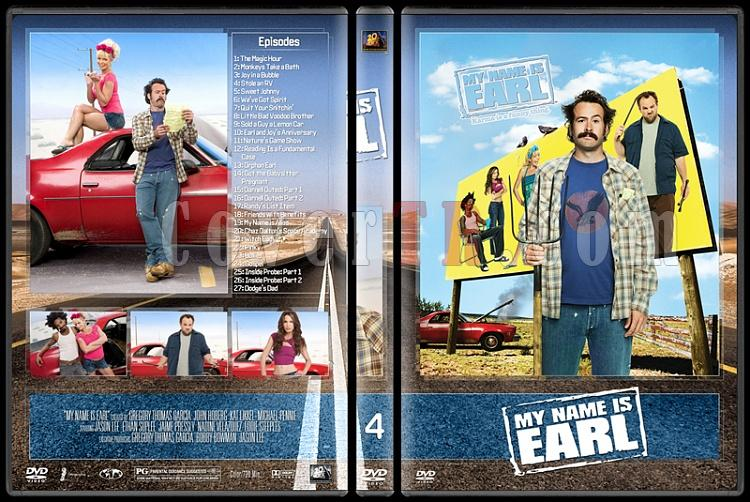 My Name Is Earl (Seasons 1-4) - Custom Dvd Cover Set - English [2005-2009]-4jpg
