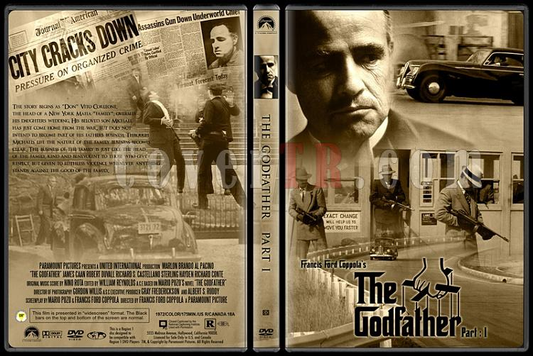 The Godfather Collection (Baba Koleksiyonu) - Custom Dvd Cover Set - English [1972-1974-1990]-1jpg