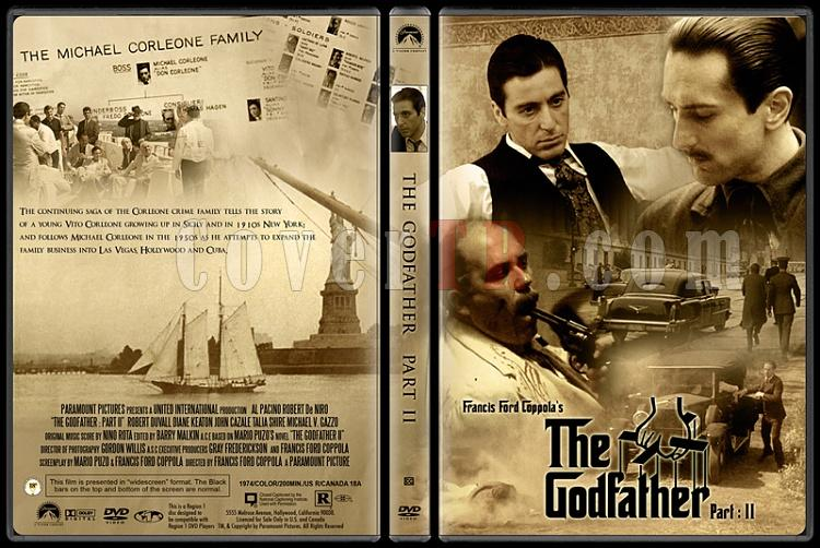 The Godfather Collection (Baba Koleksiyonu) - Custom Dvd Cover Set - English [1972-1974-1990]-2jpg