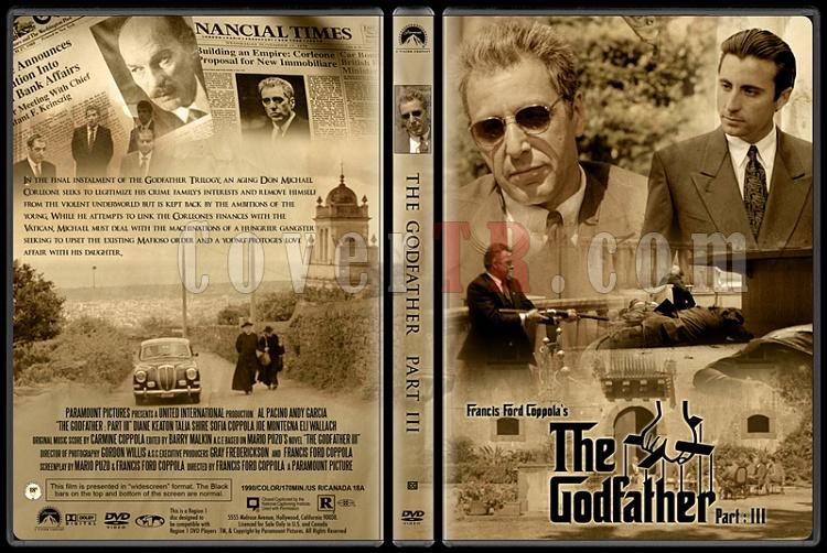 The Godfather Collection (Baba Koleksiyonu) - Custom Dvd Cover Set - English [1972-1974-1990]-3jpg