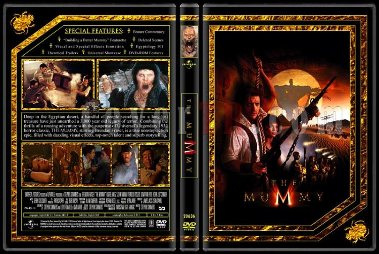 The Mummy Collection (Mumya Koleksiyonu) - Custom Dvd Cover Set - English [1999-2001-2008]-1jpg