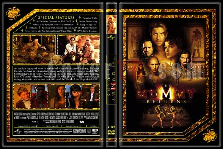 The Mummy Collection (Mumya Koleksiyonu) - Custom Dvd Cover Set - English [1999-2001-2008]-2jpg