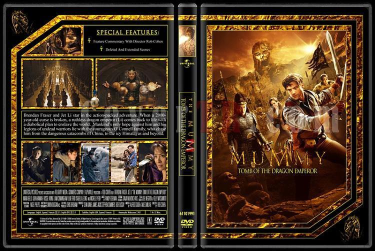 The Mummy Collection (Mumya Koleksiyonu) - Custom Dvd Cover Set - English [1999-2001-2008]-3jpg