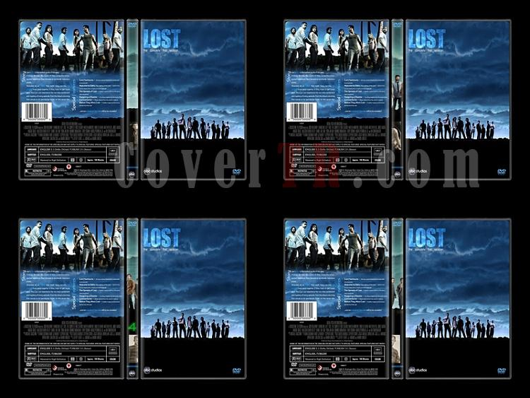 Lost (Seasons 1-6) - Custom Dvd Cover Set - English [2004-2010]-1jpg