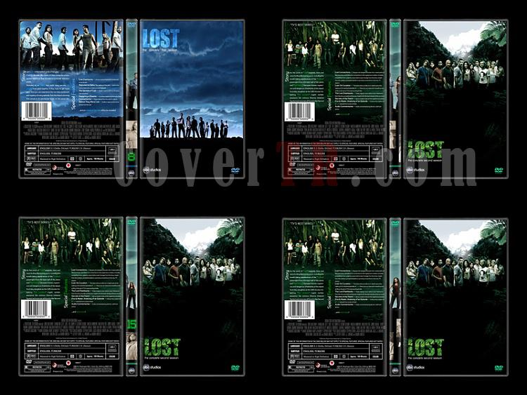 Lost (Seasons 1-6) - Custom Dvd Cover Set - English [2004-2010]-2jpg