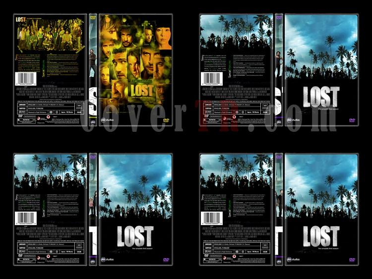 Lost (Seasons 1-6) - Custom Dvd Cover Set - English [2004-2010]-5jpg