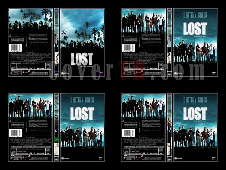 Lost (Seasons 1-6) - Custom Dvd Cover Set - English [2004-2010]-6jpg