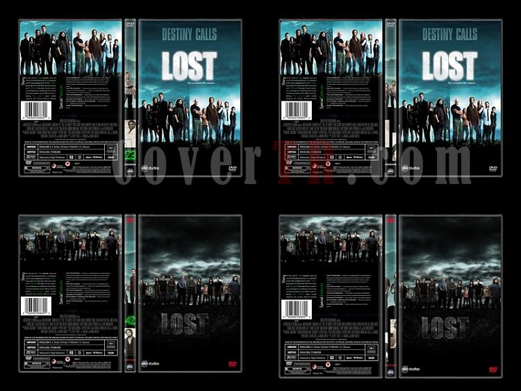 Lost (Seasons 1-6) - Custom Dvd Cover Set - English [2004-2010]-7jpg