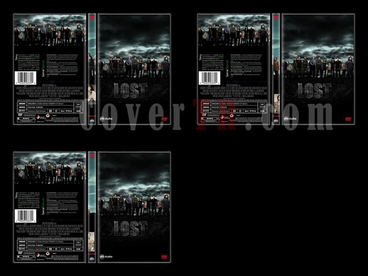 Lost (Seasons 1-6) - Custom Dvd Cover Set - English [2004-2010]-8jpg
