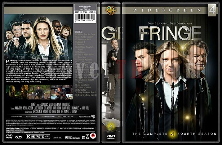 Fringe (Seasons 1-5) - Custom Dvd Cover Set - English [2008-2013]-4jpg