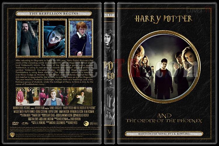Harry Potter Collection - Custom Dvd Cover Set - English [2001-2011]-05jpg