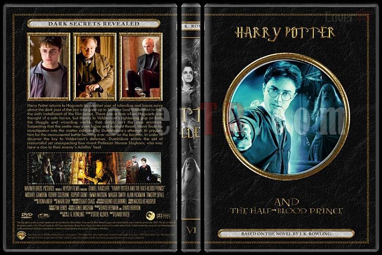 Harry Potter Collection - Custom Dvd Cover Set - English [2001-2011]-06jpg