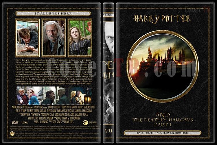 Harry Potter Collection - Custom Dvd Cover Set - English [2001-2011]-07jpg