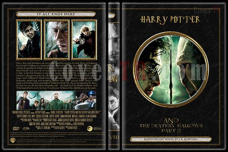 Harry Potter Collection - Custom Dvd Cover Set - English [2001-2011]-08jpg