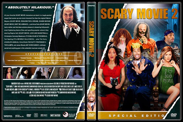 Scary Movie (Korkunç Bir Film) - Custom Dvd Cover Set - English [2000-2013]-2jpg