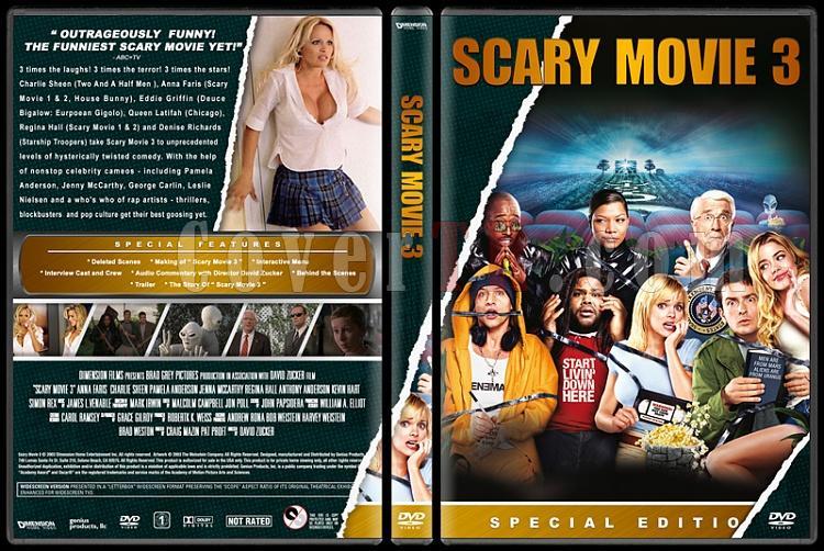Scary Movie (Korkunç Bir Film) - Custom Dvd Cover Set - English [2000-2013]-3jpg