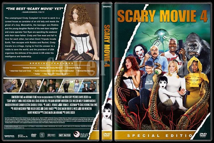 Scary Movie (Korkunç Bir Film) - Custom Dvd Cover Set - English [2000-2013]-4jpg