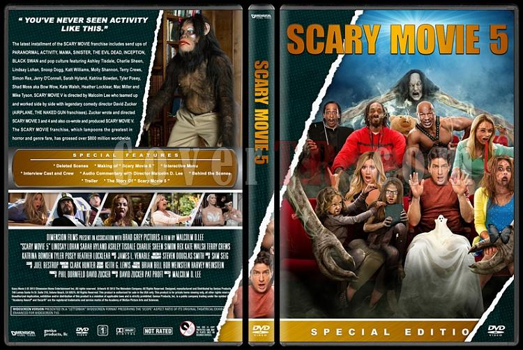 Scary Movie (Korkunç Bir Film) - Custom Dvd Cover Set - English [2000-2013]-5jpg
